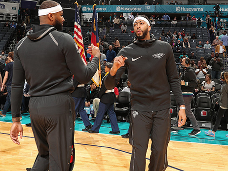 Anthony Davis, DeMarcus Cousins once again chosen for USA Basketball player pool