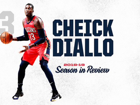 2018-19 Pelicans Season in Review: Cheick Diallo