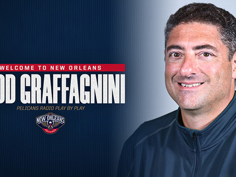 Pelicans name Todd Graffagnini radio play-by-play announcer