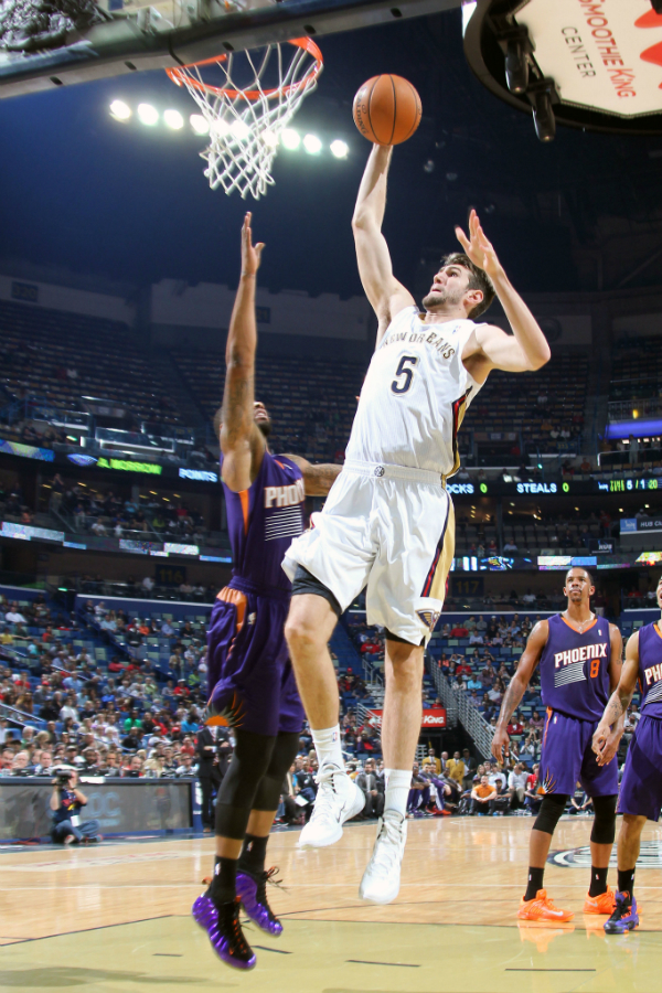 Pelicans vs Suns Action Shots