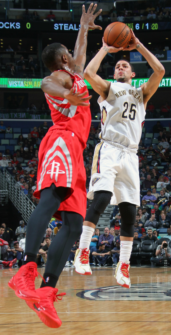 Pelicans vs Rockets Action Shots
