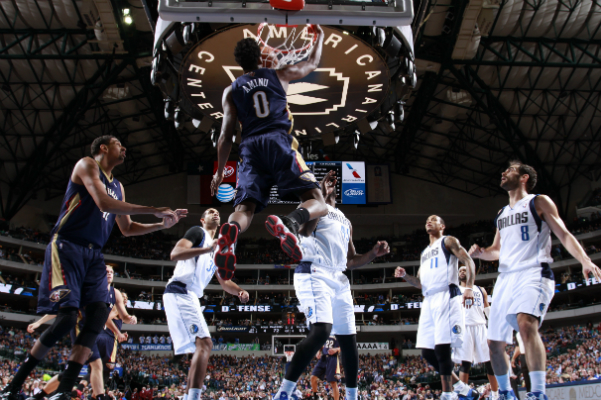 Game 36: Pelicans fall to Mavericks 110-107 on the road.