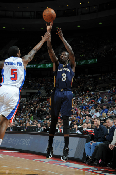 Game 42: Pelicans defeat the Pistons 103-101 on the road.