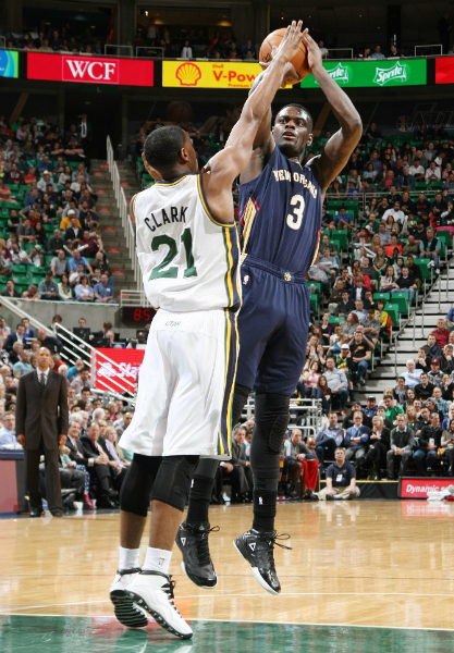 Game 76: Pelicans fall to the Jazz 100-96 on the road.