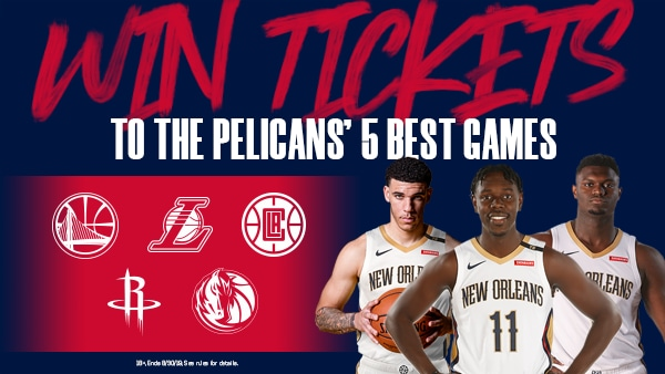Five most exciting New Orleans Pelicans home games of 2019