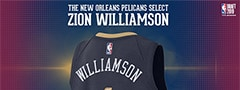 Zion Williamson Pelicans Jersey