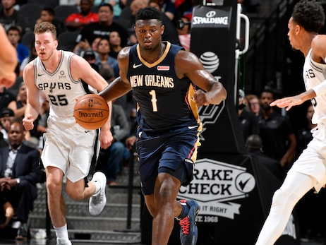 David Griffin: Pelicans taking longer-term view on Zion Williamson injury