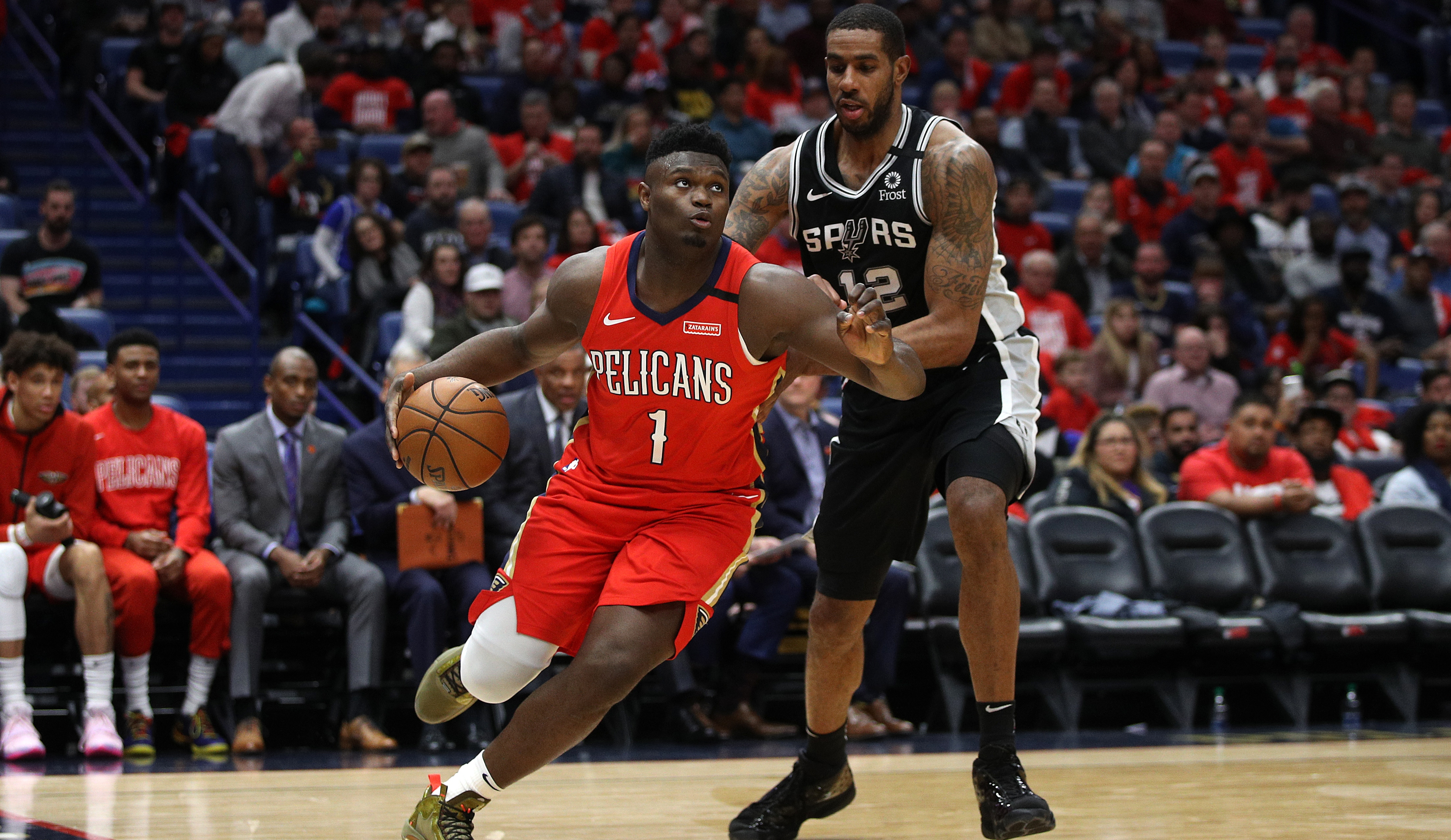 Zion Williamson -- Tried not to 'mess up' as New Orleans Pelicans rookie