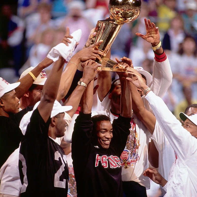 DETROIT PISTONS TO RECOGNIZE CHAMPIONSHIP ANNIVERSARIES IN