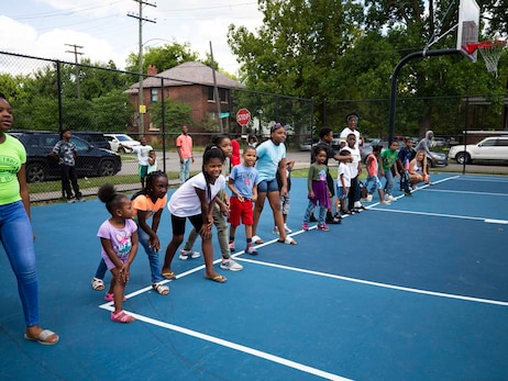 Photos: Bennett Park Back to School Event