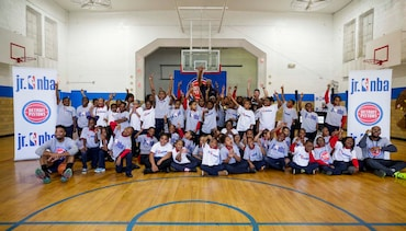Photos: Pistons Fit Clinic - Joy Preparatory Academy