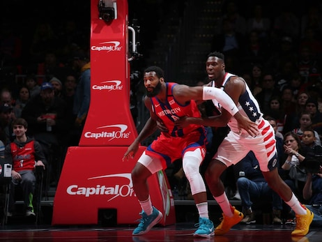 Pistons 100, Wizards 106
