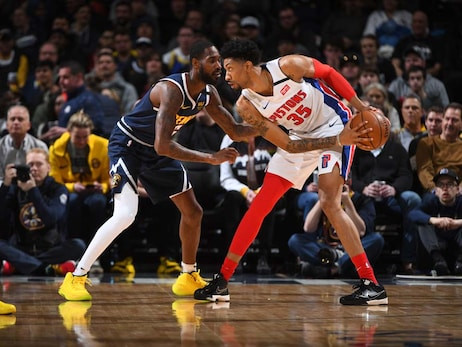 Pistons 98, Nuggets 115