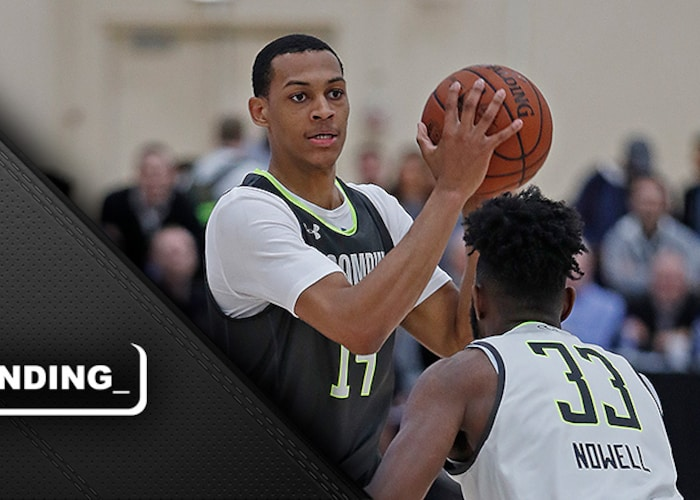 Bazley's unique path to NBA appears to be paying off as his draft stock heads north