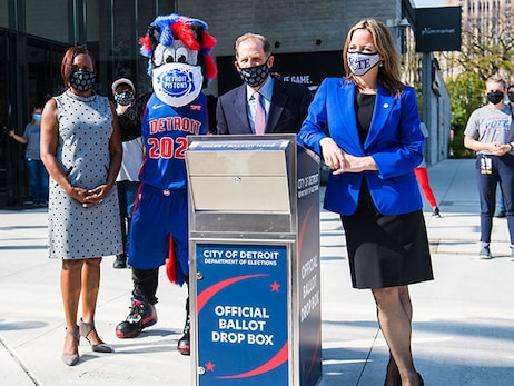 Why the Detroit Pistons are earning praise for voter galvanization efforts