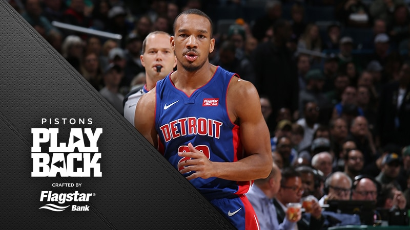 Pistons rally back but a turnover fittingly costs them the chance to win at Milwaukee