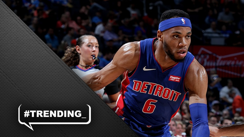 Emergency starter Brown proves unflappable  no surprise to Casey or the Pistons rookie