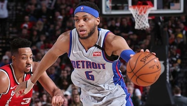 Brown ready to up the ante to fulfill Casey's wish for a competitive Detroit Pistons camp