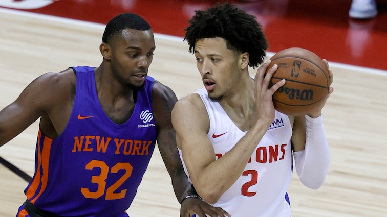 From Cade Cunningham to Jamorko Pickett, Pistons leave Summer League on a  wave of momentum | Detroit Pistons