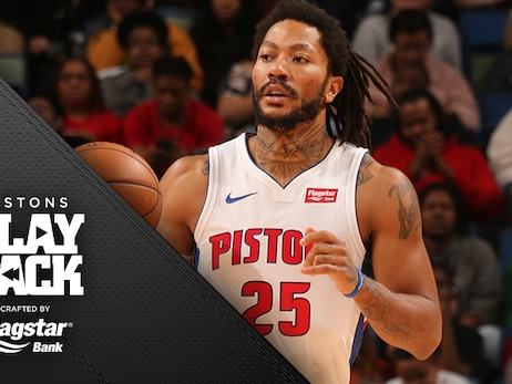 Another night, another game-winner for Rose as Pistons clip Pelicans