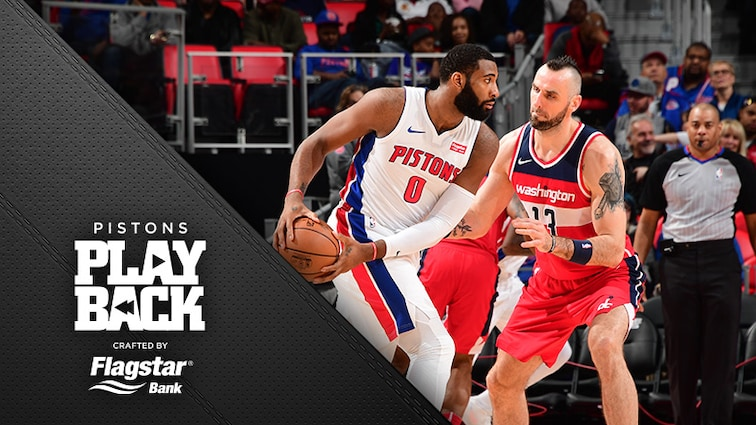 That's 20 20-20s for Drummond as he powers Pistons past