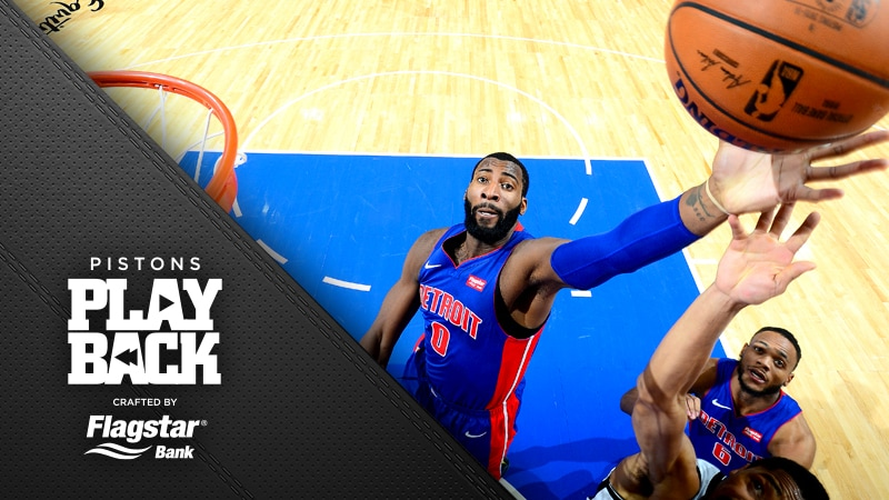 Casey focuses on what a flawed Pistons opener ultimately was: a win  and reason to celebrate