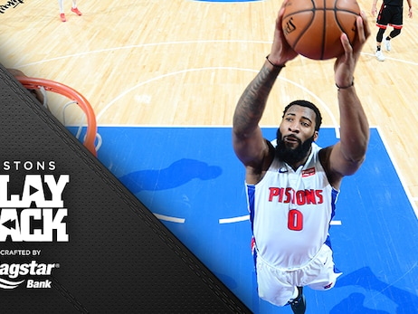 Sweep! Pistons take all 3 from Toronto as bench, Drummond come up big