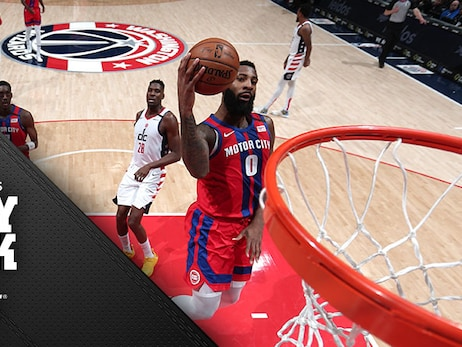 Insult and injury: Pistons lose at Washington as hot shooting hits the skids