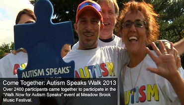 Come Together: Autism Speaks Walk 2013