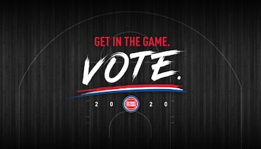 Detroit Pistons Partner With Michigan Secretary of State's Office To Drive Voter Awareness and Turnout In Upcoming Elections