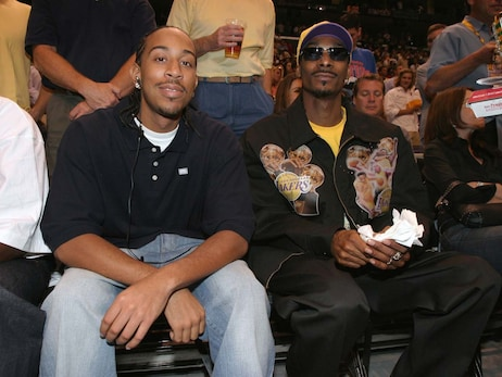 Celebrity Sightings at the 2004 NBA Finals
