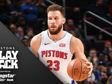 Griffin's big buckets, Pistons tough D down the stretch nets back-to-back win