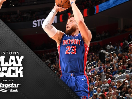 Loss stalls Pistons playoff clinching with Griffin's sore knee clouding closing chances