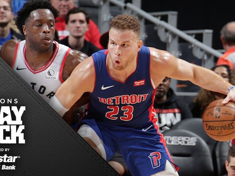 It's a 3-point world and Toronto rules as the Pistons misfire in a 6 of 35 outing