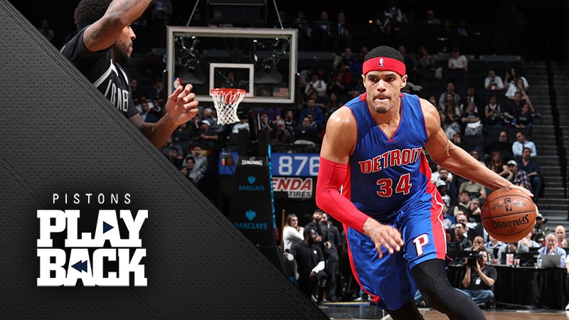 Lopez buzzer beater hands Pistons crushing loss at Brooklyn