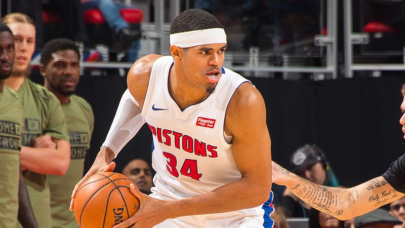 Detroit Pistons Forward Tobias Harris Named Eastern Conference Player of the Week