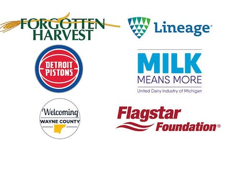 Detroit Pistons, Wayne County and Corporate Partners Provide $375,000 Grant for Forgotten Harvest