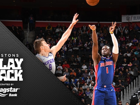 Jackson sharp in his return as Pistons roll past Sacramento without 3 key players