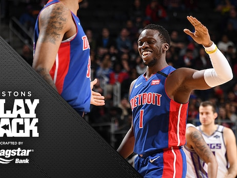 Jackson's return reminds Pistons of what they've missed as they overpower Kings