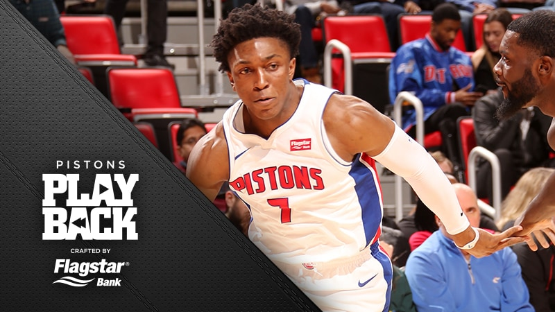 Pistons 4th quarter rally comes up short as Johnsons return lights a spark