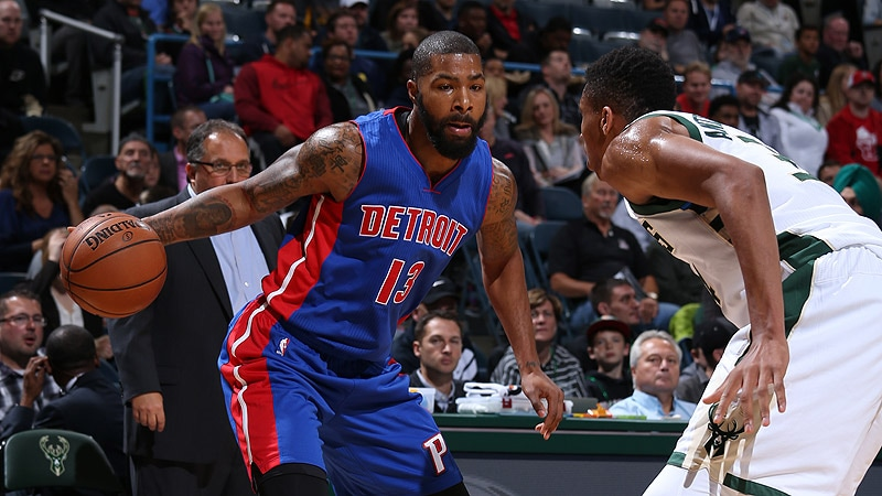 The more the Pistons see of Marcus Morris, the more they like what he brings at both ends