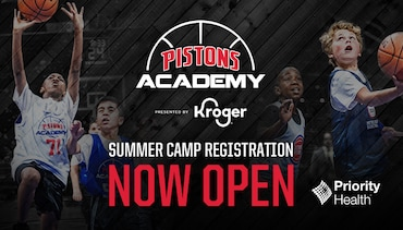 Pistons Academy Summer Camps