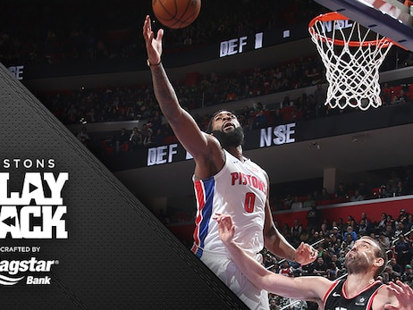 Drummond takes the game in his hands – and that works out pretty well for the Pistons