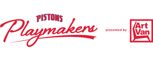 Pistons Playmakers Logo