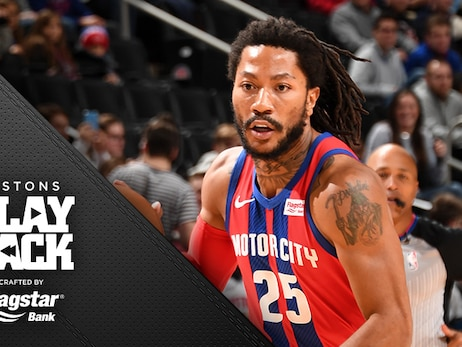 Minus Drummond, Griffin, it takes a village for Pistons to hold off Houston