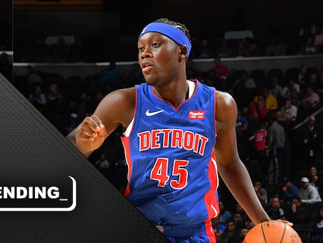 Pistons excited for Doumbouya's future – even if it won't be immediate