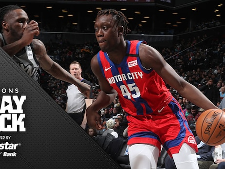 Sekou struggles, Pistons fall and Casey vows to help rookie 'get the fire back'