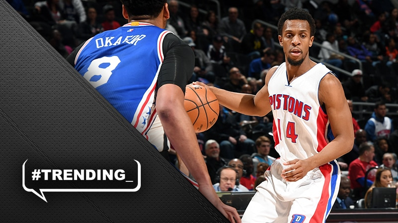 SVGs remaking of Pistons backcourt gets a thumbs up from Ish Smith