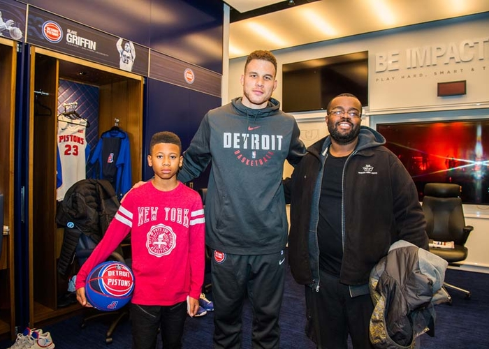 Blake griffin meet and greet feb 2 2018 part 2 detroit pistons chris schweglerpistons photo m4hsunfo