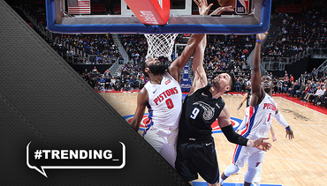 At 25, Drummond poised to overtake Laimbeer as Pistons offensive rebound king